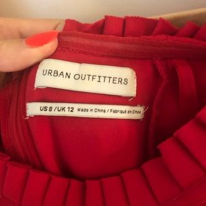 Urban Outfitters Dresses - Urban outfitters red romper